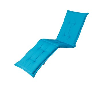 Madison Ligbedkussen Panama Aqua Blauw