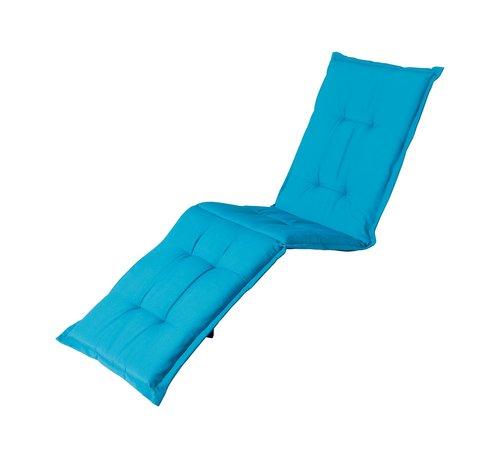 Madison Liegenauflage Panama Aqua Blau 200x60cm