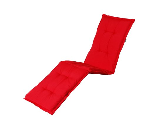 Madison Liegenauflage Panama Rot 200x60cm