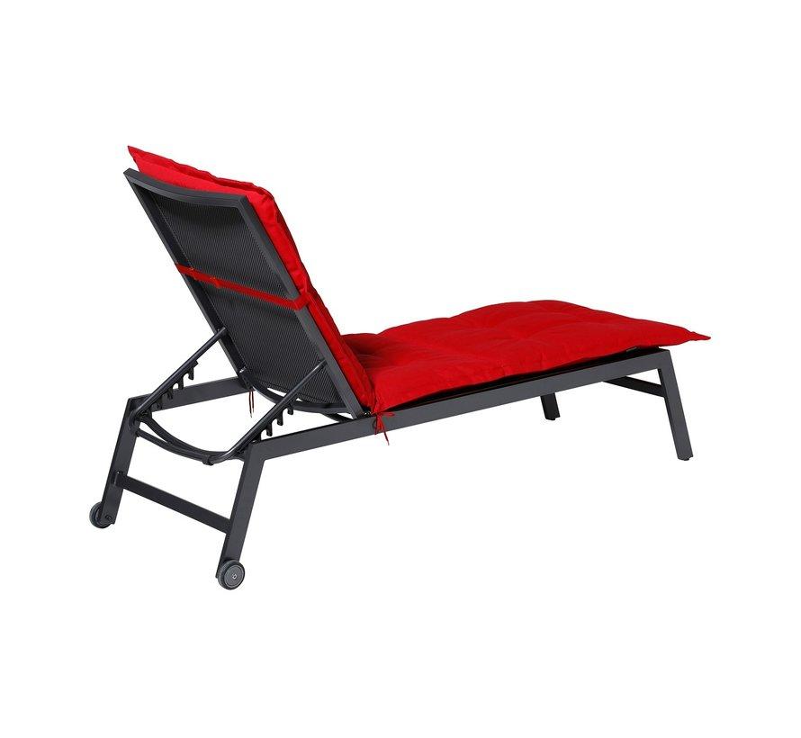 Liegenauflage Panama Rot 200x60cm