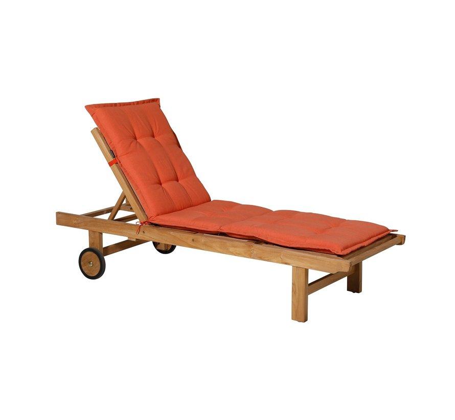 Liegenauflage Panama Orange 200x60cm