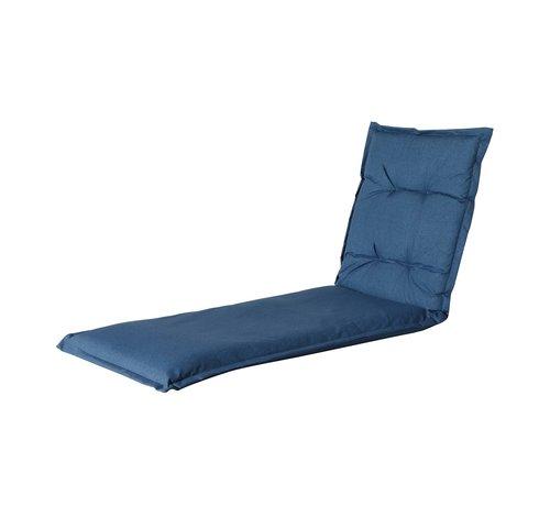 Madison Ligbedkussen Outdoor Oxford Blauw 200x60cm