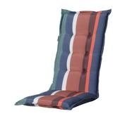 Madison Stuhlauflage Panama Stripe Blau