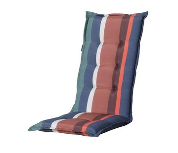 Madison Tuinstoelkussen Panama Stripe Blauw