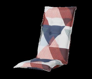 Madison Tuinstoelkussen Panama Triangle Blauw