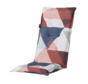 Madison stoelkussen hoge rug Triangle Blauw 123cm