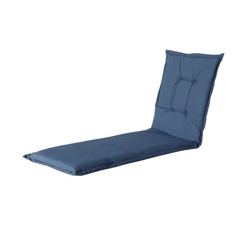 Madison Ligbedkussen Outdoor Panama Saffier Blauw 200x60cm