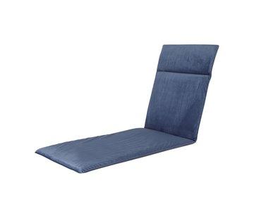 Madison Liegenauflage Outdoor Panama Velvet Saphir Blau