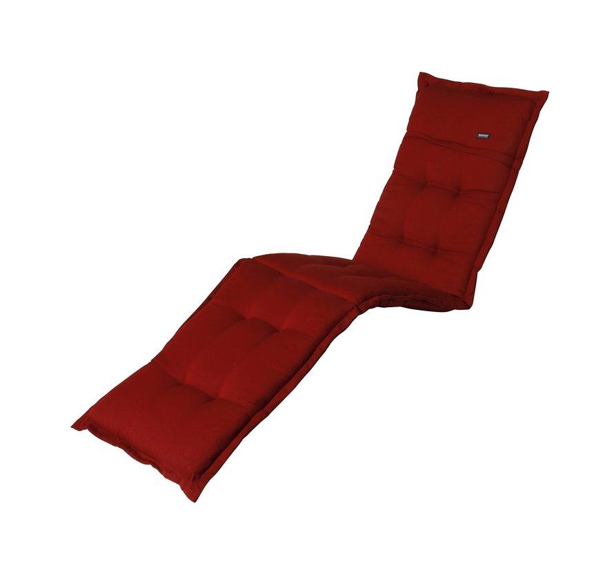 Liegenauflage Rib Rot 200x60cm