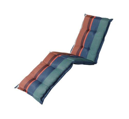 Madison Ligbedkussen Stripe Blauw 200x60cm