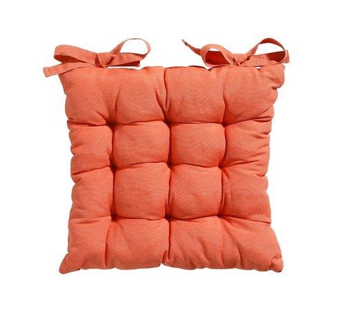 Madison Toscane Panama Sitzkissen für Gartensessel oder Gartenbänke 46x46cm Orange
