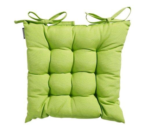 Madison Toscane Panama Sitzkissen für Gartensessel oder Gartenbänke 46x46cm Lime Grün