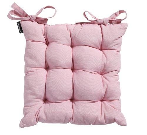 Madison Toscane Panama Sitzkissen für Gartensessel oder Gartenbank 46x46cm Rosa