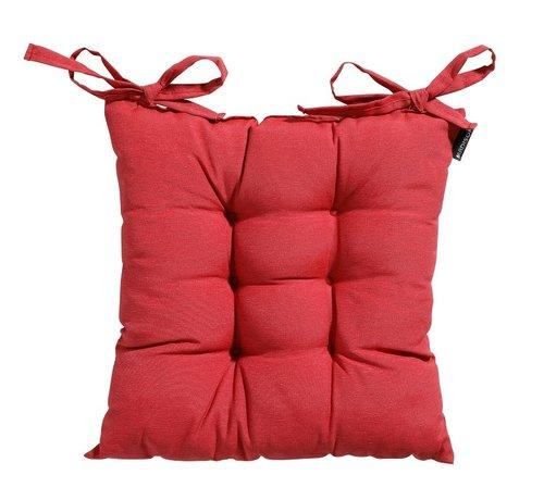 Madison Toscane Panama Sitzkissen für Gartensessel oder Gartenbank 46x46cm Ziegel Rot
