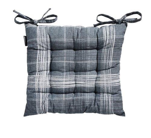 Madison Toscane Sitzkissen für Gartensessel oder Gartenbank 46x46cm Simon Blau