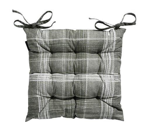 Madison Toscane Sitzkissen für Gartensessel oder Gartenbank 46x46cm Simon Grün