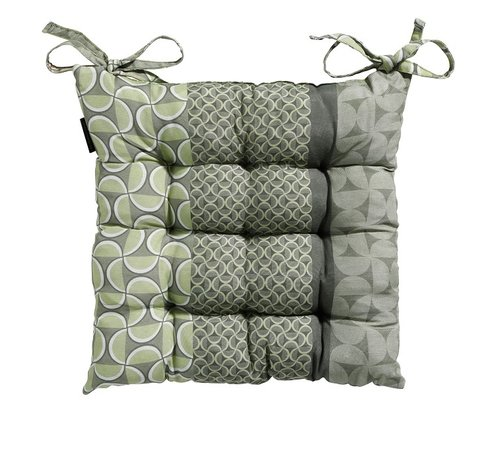 Madison Toscane Sitzkissen für Gartensessel oder Gartenbank 46x46cm Grün