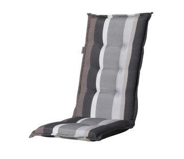 Madison Stuhlauflage Panama Stripe Grau