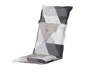 Madison Stuhlauflage Panama Trianglel Grau