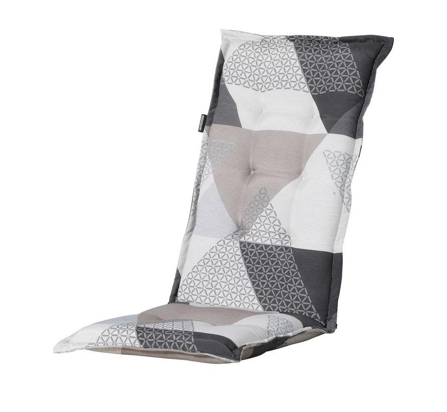 Madison Stuhlauflage Hochlehner Triangle Grau 123cm