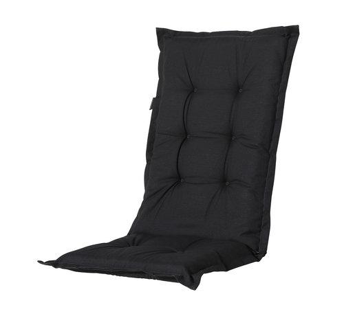 Madison Madison stoelkussen hoge rug Zwart 123cm