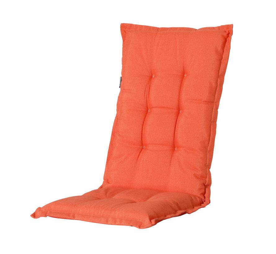 Madison Stuhlauflage Hochlehner Orange 123cm