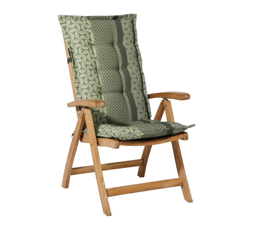Madison stoelkussen hoge rug Pasa Groen 123cm