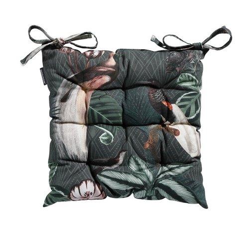 Madison Toscane Sitzkissen für Gartensessel oder Gartenbank 46x46cm Sofie Grün