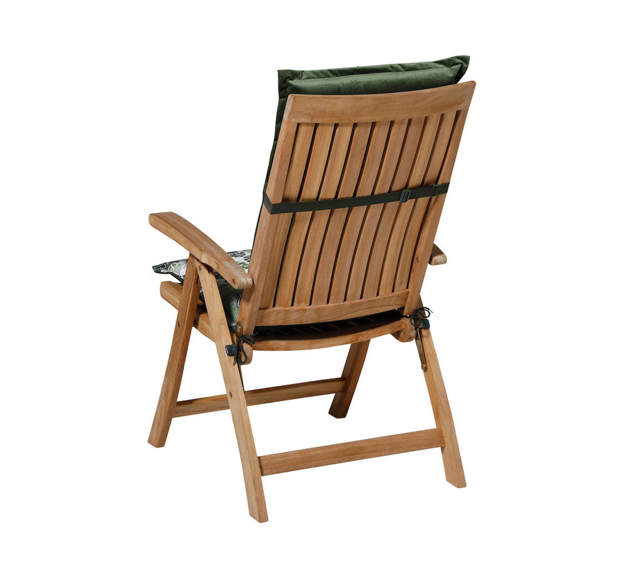 Madison Stuhlauflage Hochlehner Sifra Grün 123cm