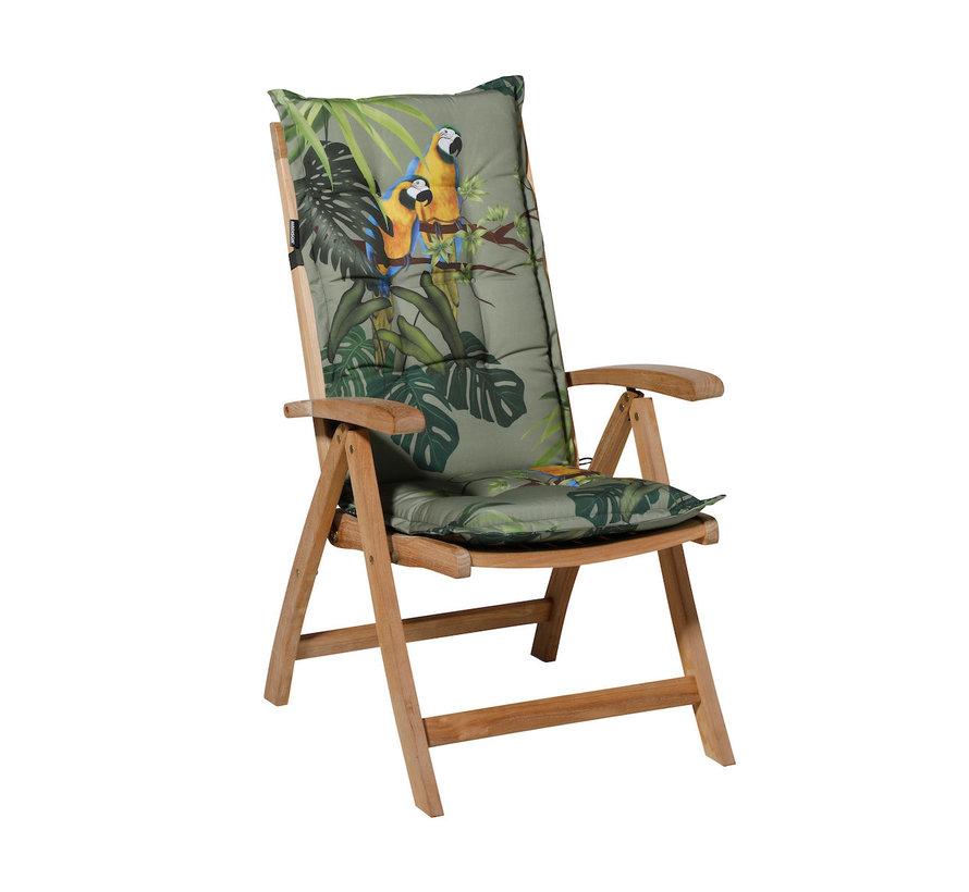 Madison stoelkussen hoge rug Riff Groen 123cm