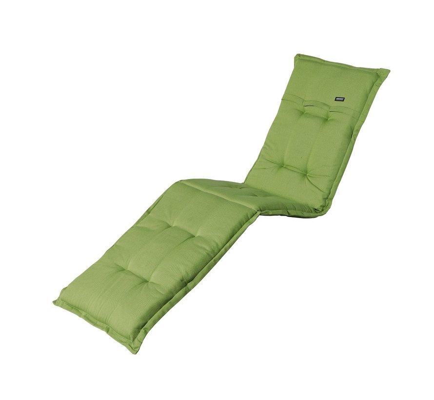 Ligbedkussen Rib Lime Groen 200x60cm