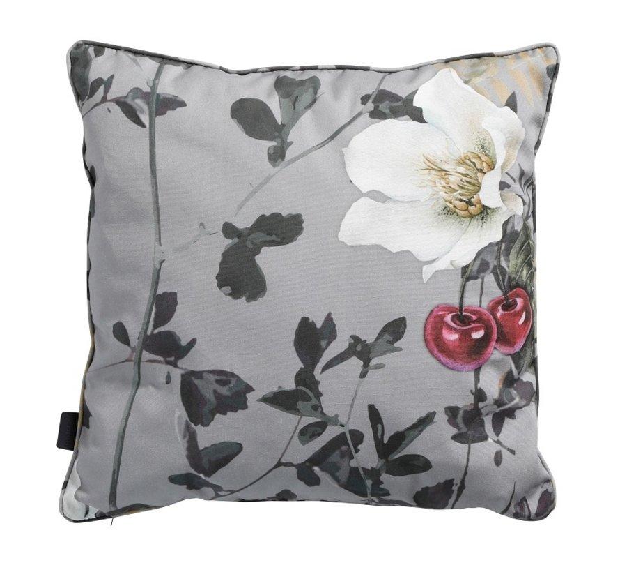 Set van 3 Sierkussens voor uw tuinstoel l Roze l Saffier Blauw l Zara Grijs