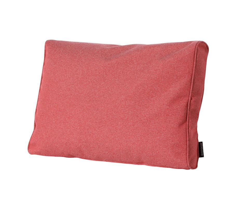 Outdoor Manchester Rückenkissen für Loungemöbel und Garnitur 73 x 43cm - Rot