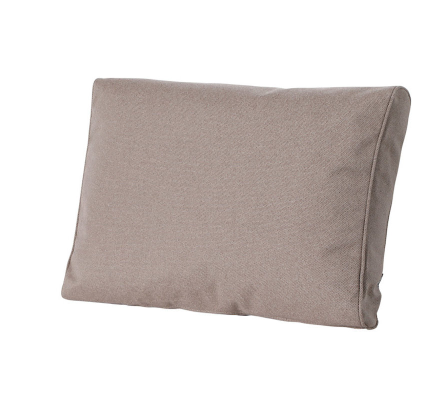 Outdoor Manchester rugkussen voor loungeset of tuinset 73 x 43cm - Taupe
