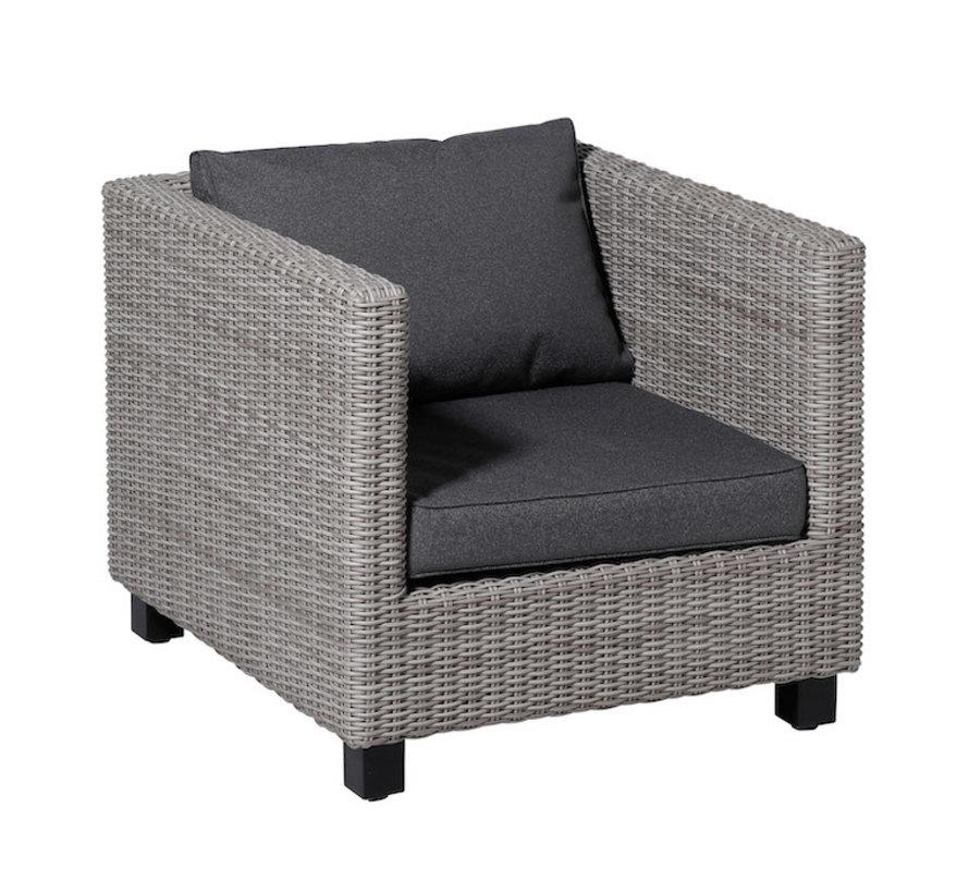 Outdoor Manchester Kissenset für Loungemöbel und Garnitur 60 x 60cm - Grau