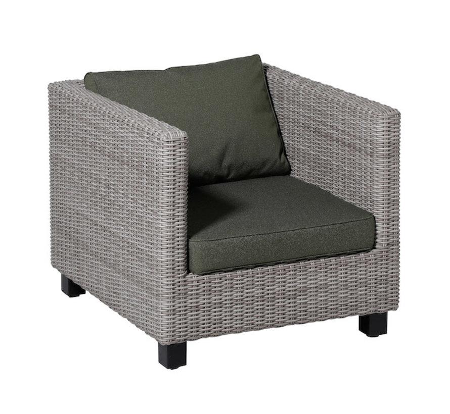 Outdoor Manchester Kissenset für Loungemöbel und Garnitur 73 x 73cm - Grün
