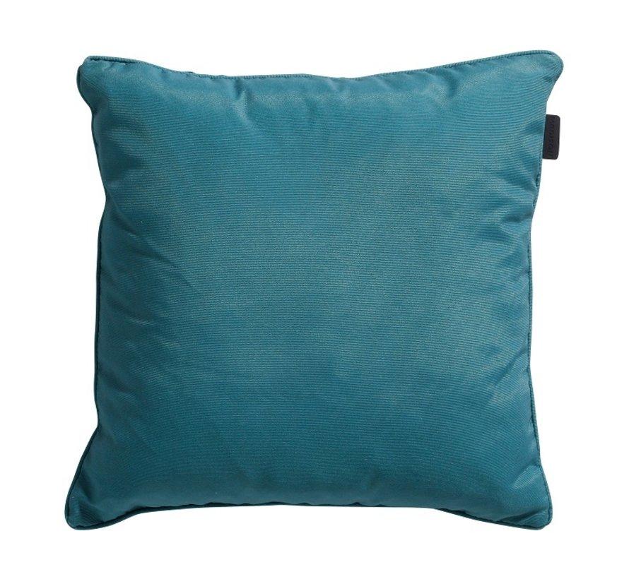 Set mit 3 dekorativen Kissen l Grün l Ockergelb l Sea Blau