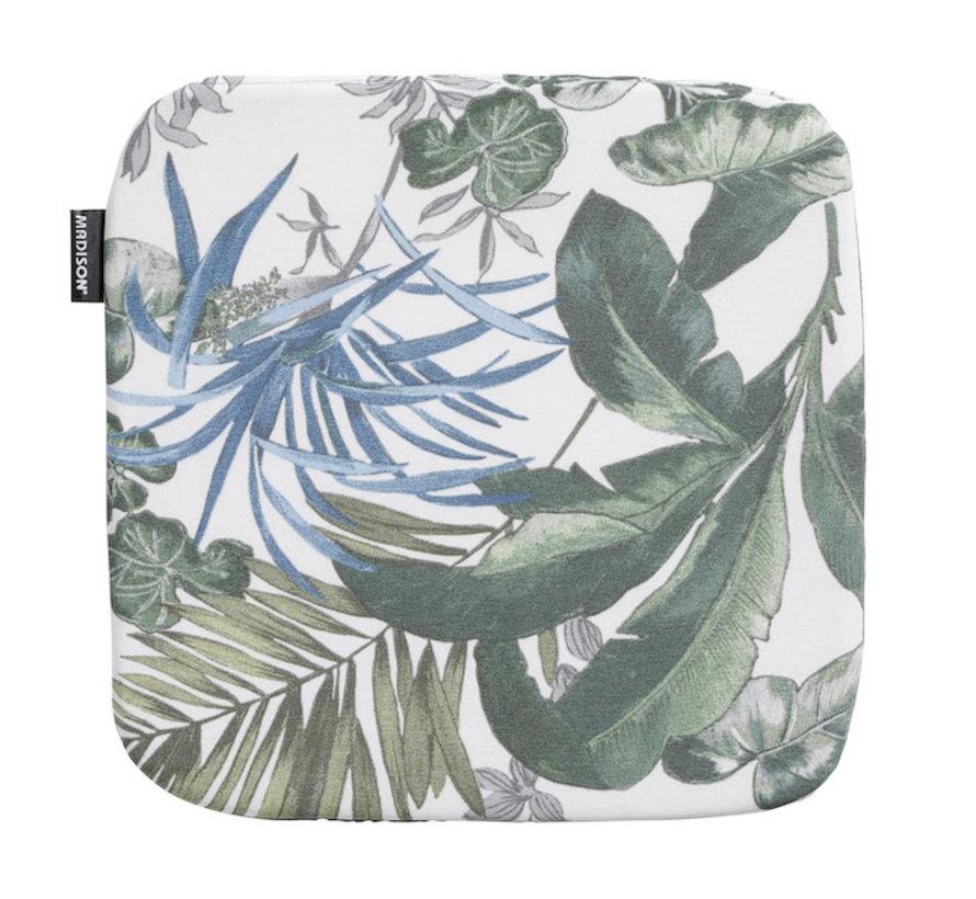 Sophie Outdoor Zitkussen Bliss Blauw 40x40cm voor tuinstoel - kuipstoel