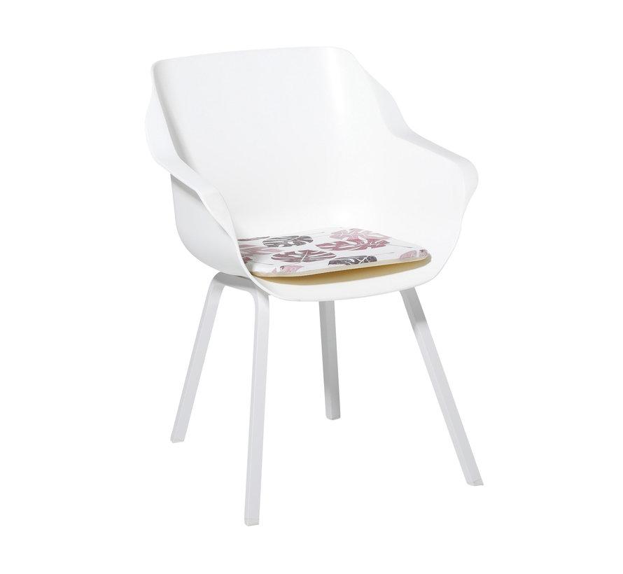 Sophie Outdoor Sitzkissen für Gartensessel 40x40cm Donna Rosa