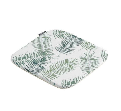 Madison Sophie Outdoor Sitzkissen für Gartensessel 40x40cm Flora Grün