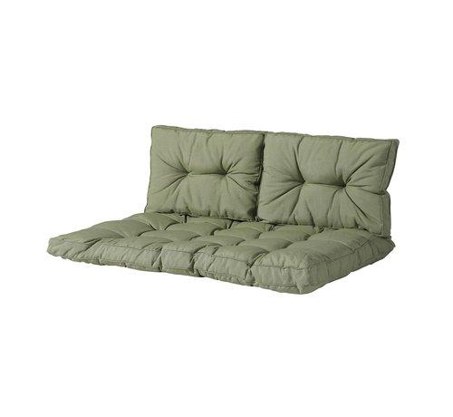 Madison Florance Zitkussen met 2 Rugkussens voor uw Lounge- of Tuinset | Panama Sage Groen