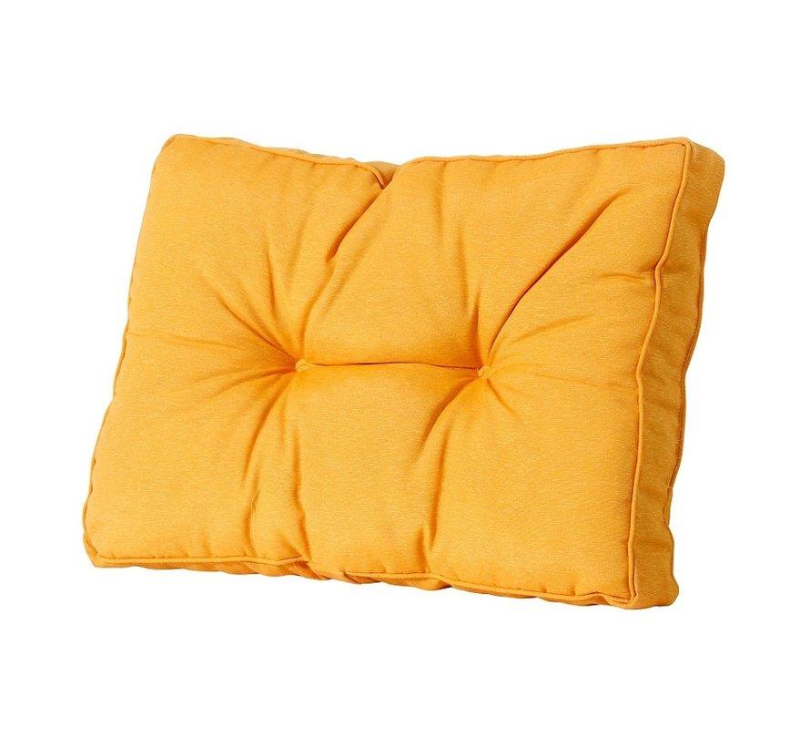 Florance Palettenkissen mit 4 Rückenkissen für Ihre Loungegarnitur | Panama Gelb