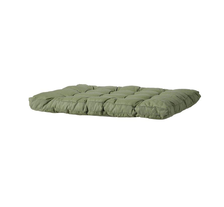 Florance Palettenkissen mit 3 Rückenkissen für Ihre Loungegarnitur   Panama Sage Grün