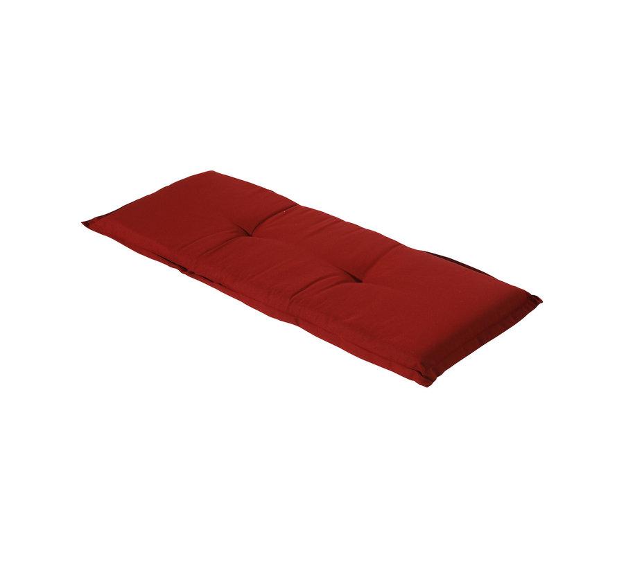 Gartenbankauflage Rib Rot