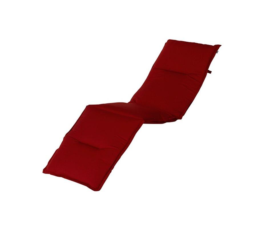 Hartman Liegenauflage 195 x 63 cm | Havana Rot