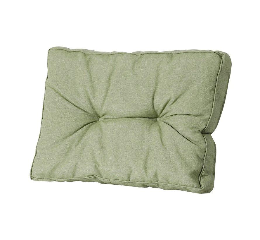 Florance Palettenkissen mit 1 Rückenkissen für Ihre Loungegarnitur | 60x60cm | Panama Sage Grün
