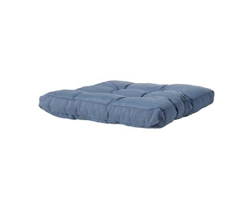 Madison Sitzkissen für Loungemöbel und Garnitur 73 x 73cm | Panama Saphir Blau