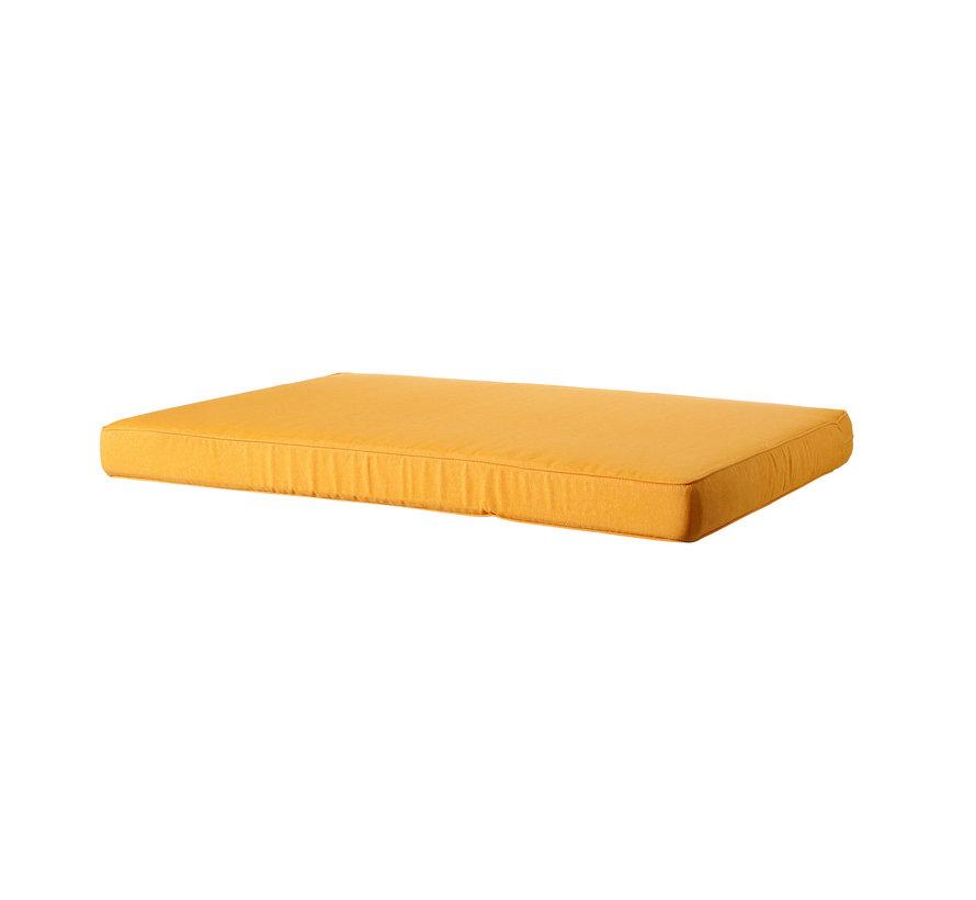 Lounge Palettenkissen für Palettenbank 120cm x 80cm | Okergeel