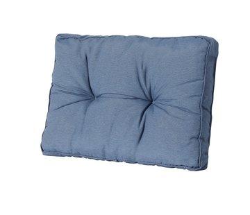 Madison Florance Rückenkissen 73 x 43 cm   Panama Saphir Blau