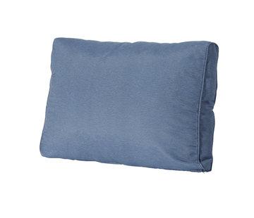Madison Lounge Rückenkissen 60 x 43 cm | Panama Saphir Blau